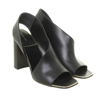 Céline Asymmetrical sandal