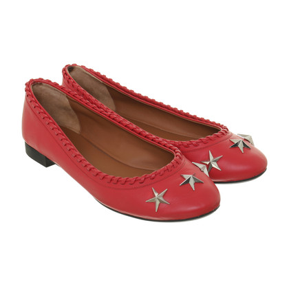 Givenchy Rote Ballerinas