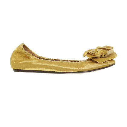 Lanvin Golden ballerinas