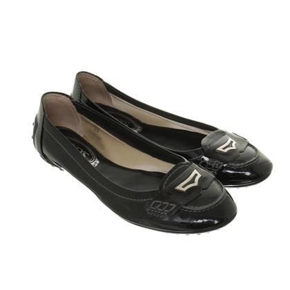 Tod's Patent leather ballerinas