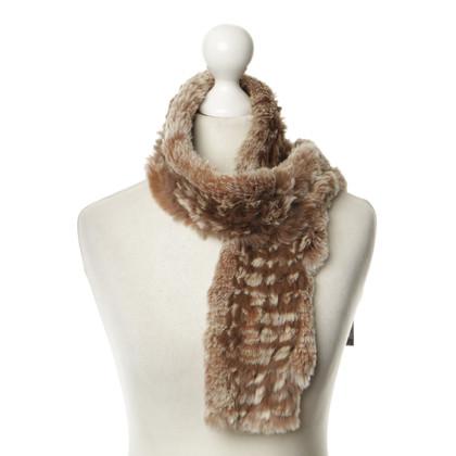 Furry Konijn bont sjaal bont