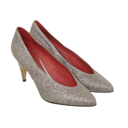 Isabel Marant Etoile Pumps in colorful metallic design