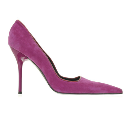 Cesare Paciotti Lace Pumps with separate shaft