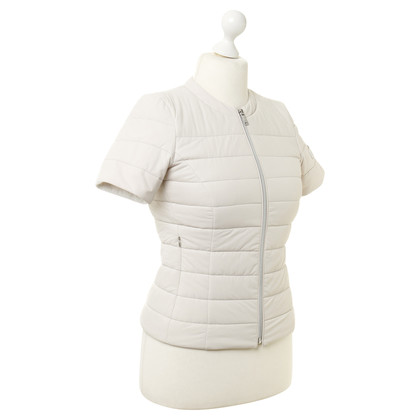 Peuterey Short sleeve Quilted Jacket in cream