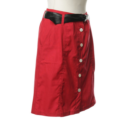 A.P.C. skirt in red