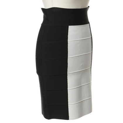 BCBG Max Azria Gonna in bianco e nero