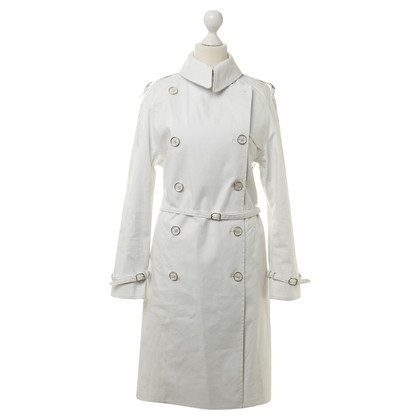 Hermès Trench coat in off-white