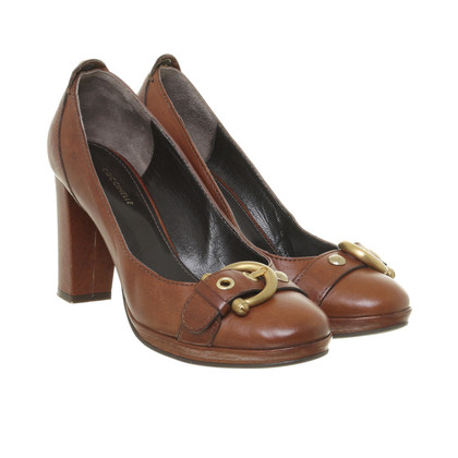 Coccinelle Pumps with decorative buckle