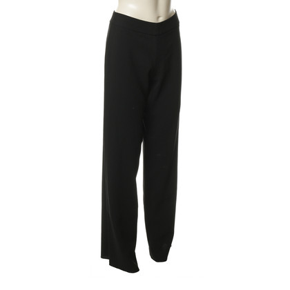 Giorgio Armani Black wool trousers