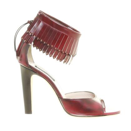 Marc Jacobs Sandali rossi scuri