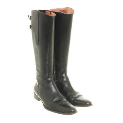 Santoni Zwarte laarzen