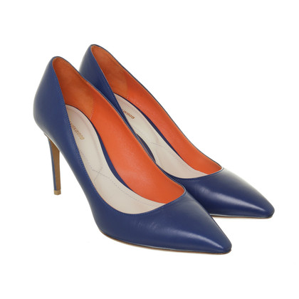 Nicholas Kirkwood Top Pumps in Royal Blue