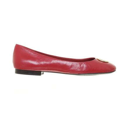 Ralph Lauren Ballerinas in Rot