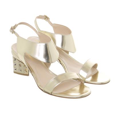 Nicholas Kirkwood Gold sandals