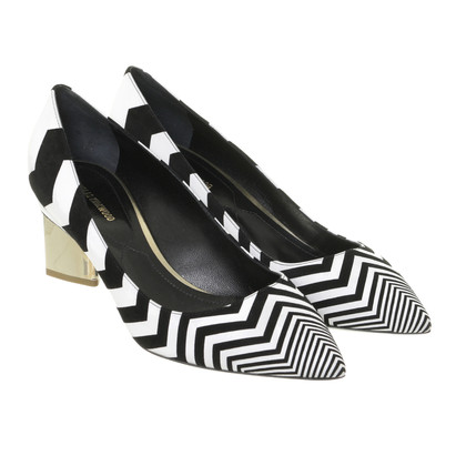 Nicholas Kirkwood Pumps with Chevron pattern