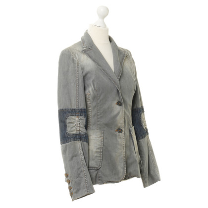 Costume National Jeansblazer in Grau