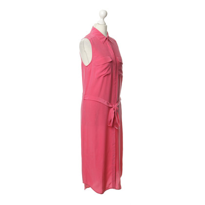 Equipment Silk dress in pink