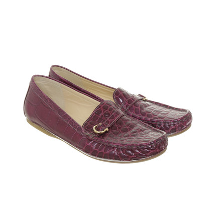 Aigner Loafer in Reptilien-Optik