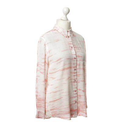 Equipment Bluse mit Batik-Print