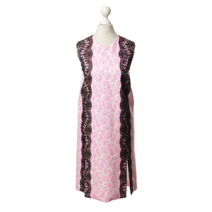 Christopher Kane Floral dress with lace