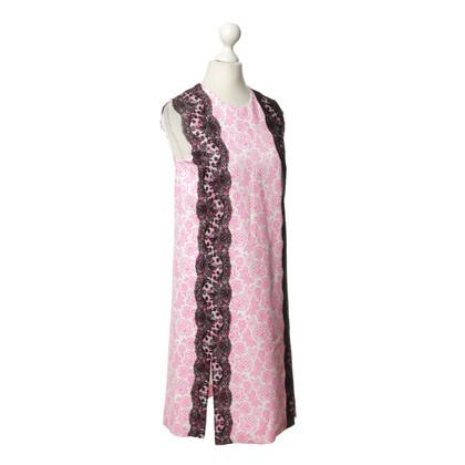 Christopher Kane Florales Kleid mit Spitze