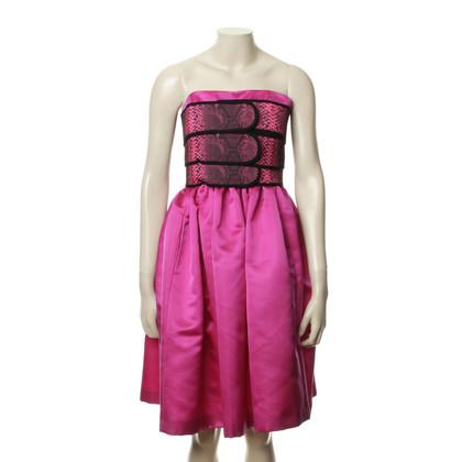 Christopher Kane Bandeau-jurk gemaakt van zijde