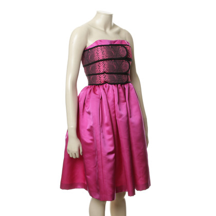 Christopher Kane Silk Bustier dress