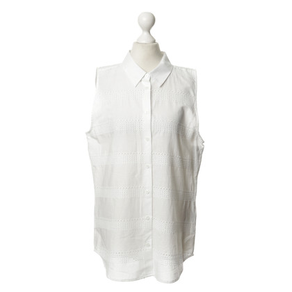 Equipment Witte blouse met kant