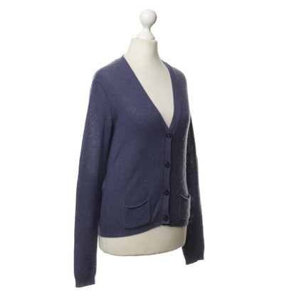 Closed Cardigan di cashmere in viola