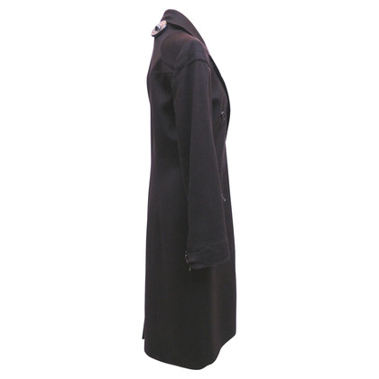 Christian Dior Mantel mit Reißverschlüssen
