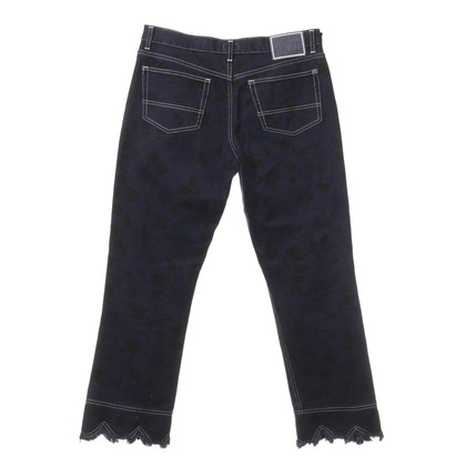 Paul Smith Jeans pattern with fringed edges