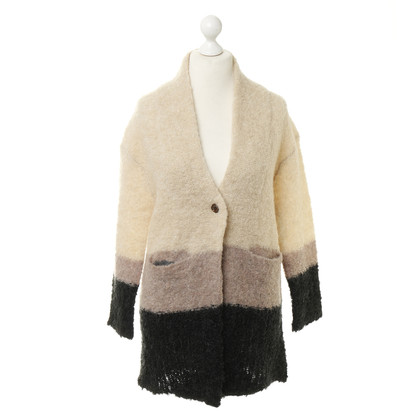 Hoss Intropia Wool and mohair sweater coat