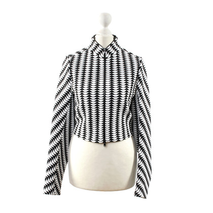 Alaïa Jacket with graphical pattern