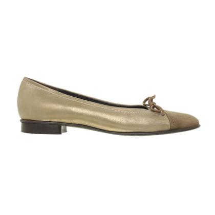 Andere merken Lario - Ballerina's met metalen shimmer