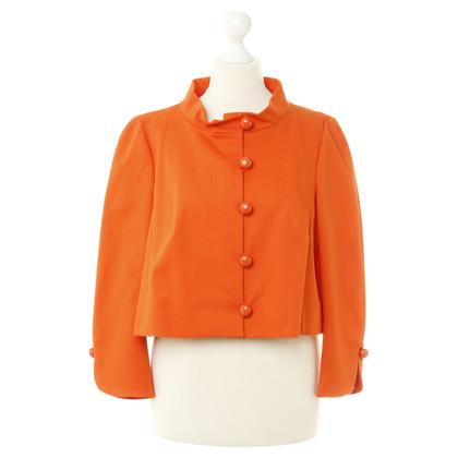 Red Valentino Korte jas in Orange
