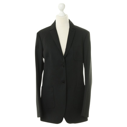 Drykorn Long Blazer in black