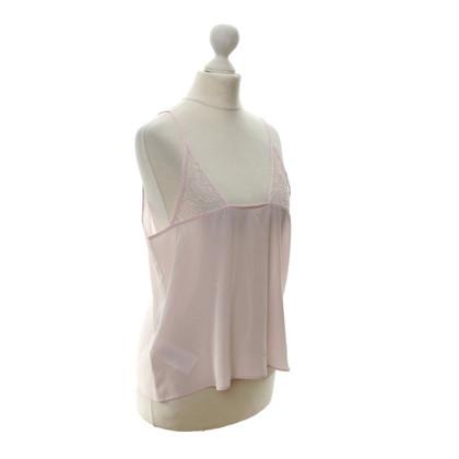 Lala Berlin 'Odiele' silk top in pink