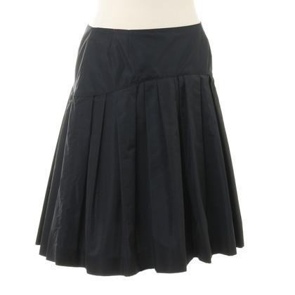 Miu Miu Pleated skirt in dark blue