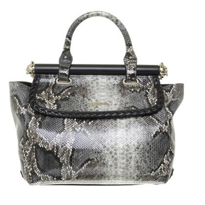 Just Cavalli Handtasche in Reptil-Optik