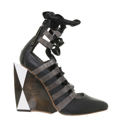 Finsk Wedges met veter
