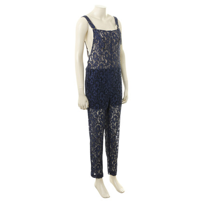 MSGM Jumpsuit with blue lace