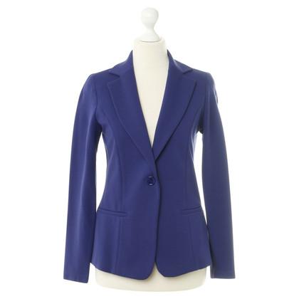 Piu & Piu Blazer in cobalt blauw