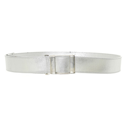 Miu Miu  Belt in metallic-look