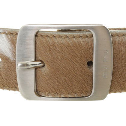 Miu Miu Belt made of cow hide