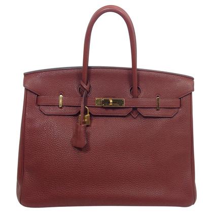 Hermès Birkin Bag 35 Roughe Togo