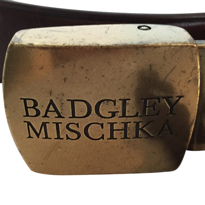 Badgley Mischka Leather belt
