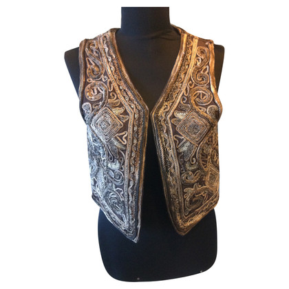 Antik Batik Embroidered vest