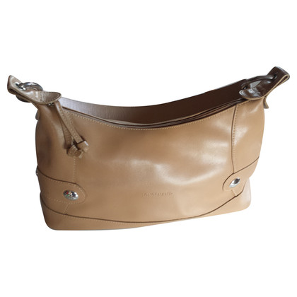 Longchamp Leather handbag in beige