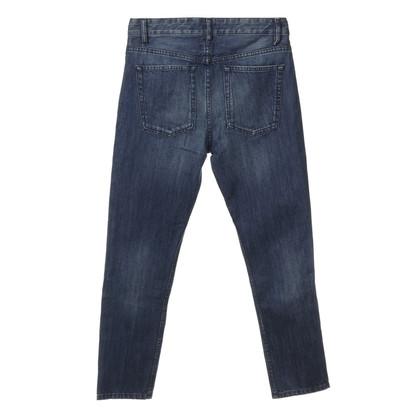 "Isabel Marant Etoile ""Penn"" in blue jeans"