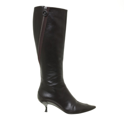 Giorgio Armani Boots with zipper decoration